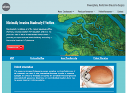 canaloplasty homepage